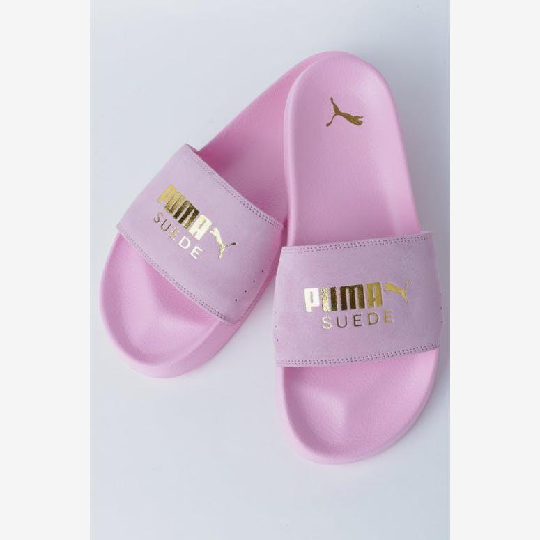 eb1c0acc6bc594 PUMA Leadcat Suede Pale Pink – Culture Kings