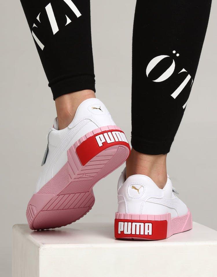 c9490f49 Puma Women's Cali Fashion White/Pink – Culture Kings