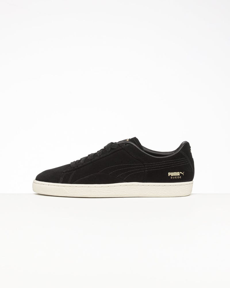 Puma Suede Notch Black/White/Gold