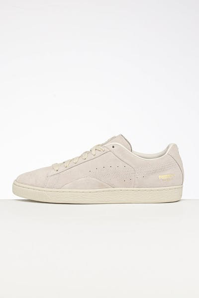 Puma Suede Notch White/Gold