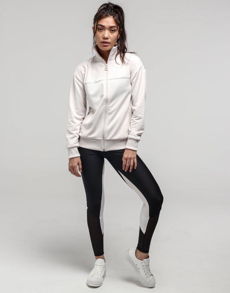 37117c7d Puma Women's Classic Poly Track Jacket Pastel Parchmen