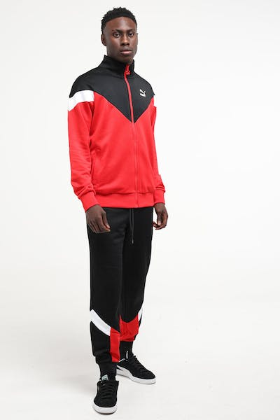 Puma Iconic MCS Track Jacket Red