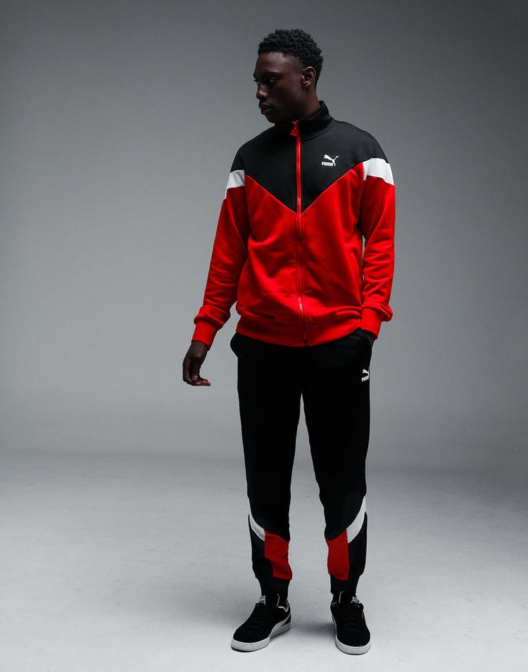the latest 192dc 47a48 Puma Iconic MCS Track Jacket Red