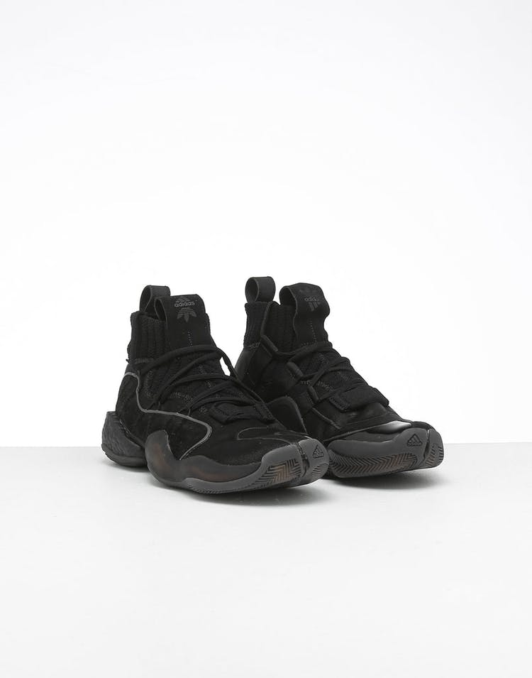 best sneakers 24d60 b4eb7 Adidas Crazy BYW X Black/Black