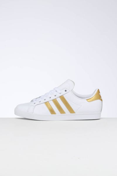 Adidas Women's Coast Star White/Gold