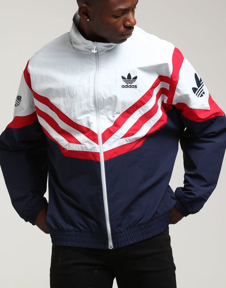 0048df6bd Adidas Sportivo Track Top White/Navy/Red – Culture Kings