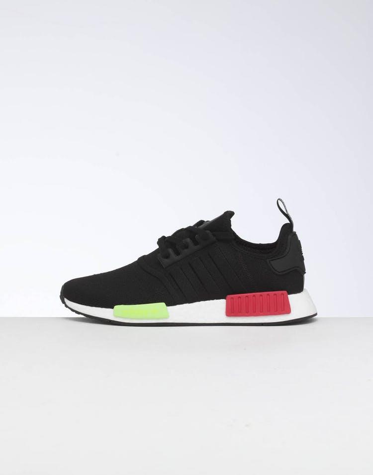 size 40 a5da2 ab1f7 Adidas NMD_R1 Black/Black/Pink