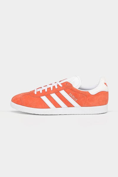 ADIDAS GAZELLE Orange/White