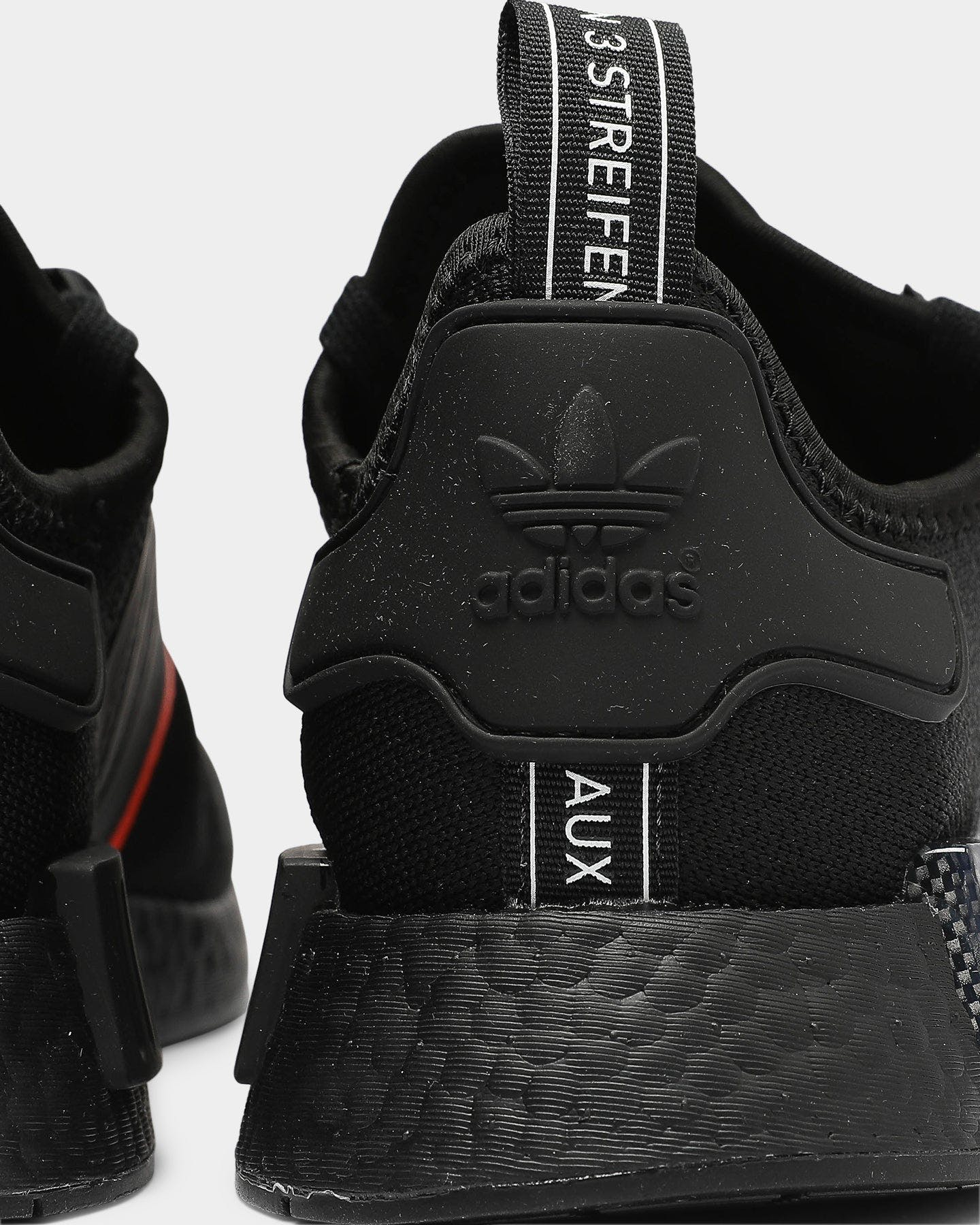 adidas nmd r1 black and red
