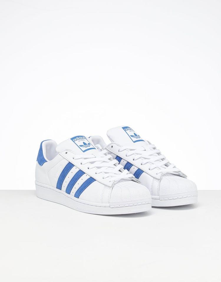 lowest price 56b18 7daf0 Adidas Superstar White/Blue