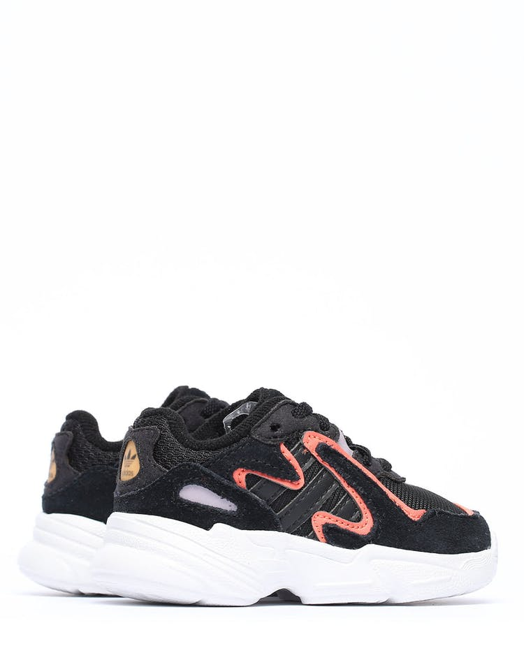 Adidas Toddler Yung-96 Chasm EL I Black/White/Orange