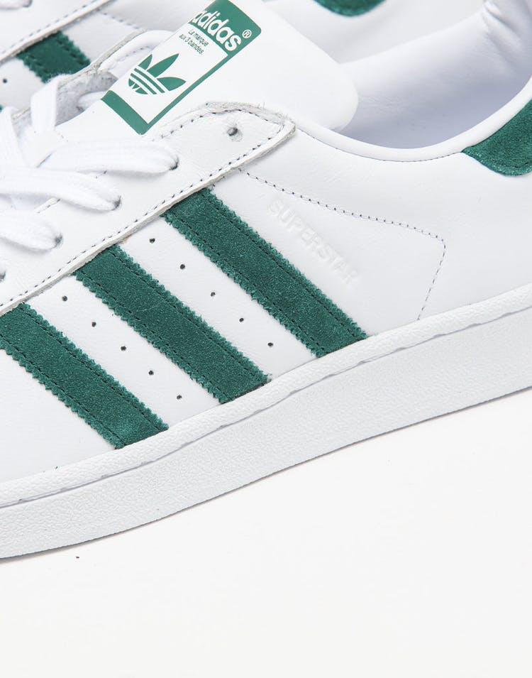watch b0059 a9016 Adidas Superstar White/Green