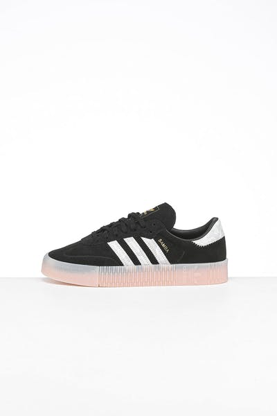Adidas Women's Sambarose Black/White/Gold