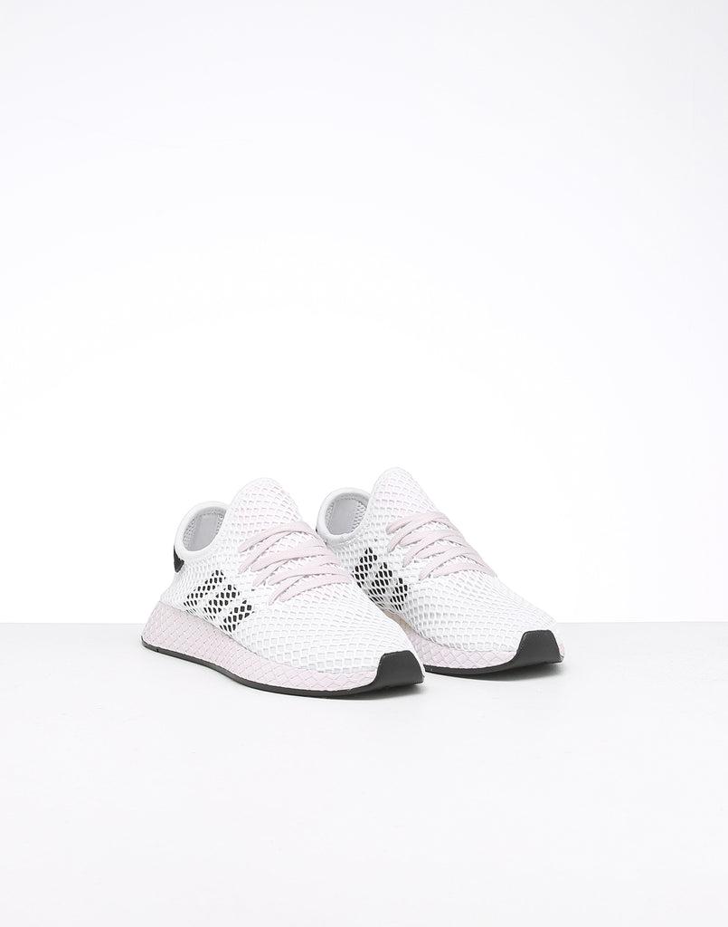 Adidas Women's Deerupt Runner WhiteBlackOrchid