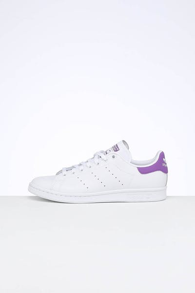 Adidas Women's Stan Smith White/Purple