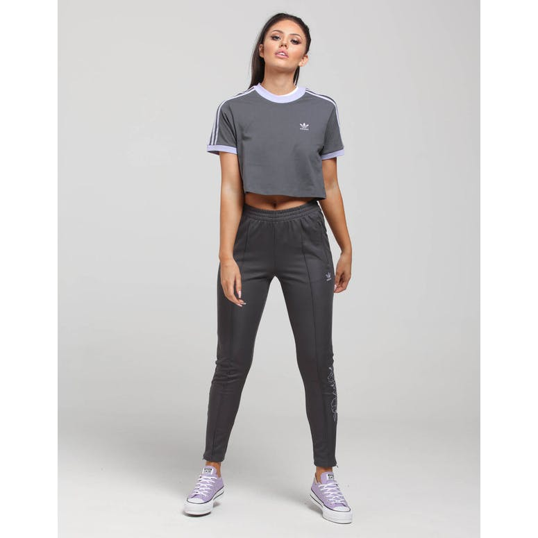 Adidas Women's Cropped Tee Grey