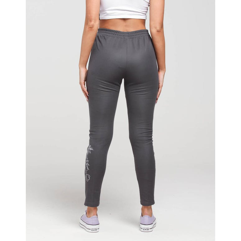 Adidas Women's SST Track Pants Grey/Purple