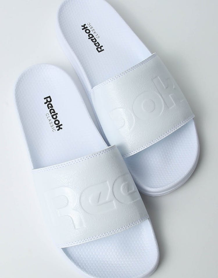 1def94a07 Reebok Classic Slide Split White Black – Culture Kings