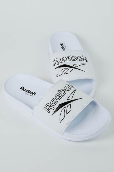 97ec1e851cf9e3 Reebok Classic Slide Vector White Black
