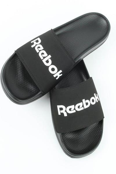 hot sale online 24e19 fcc2c Reebok Classic Slide 2 Black White