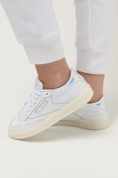 Reebok Women's Club C 85 White Grey
