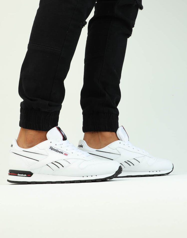 Reebok Classic Leather MU White/Black/Red