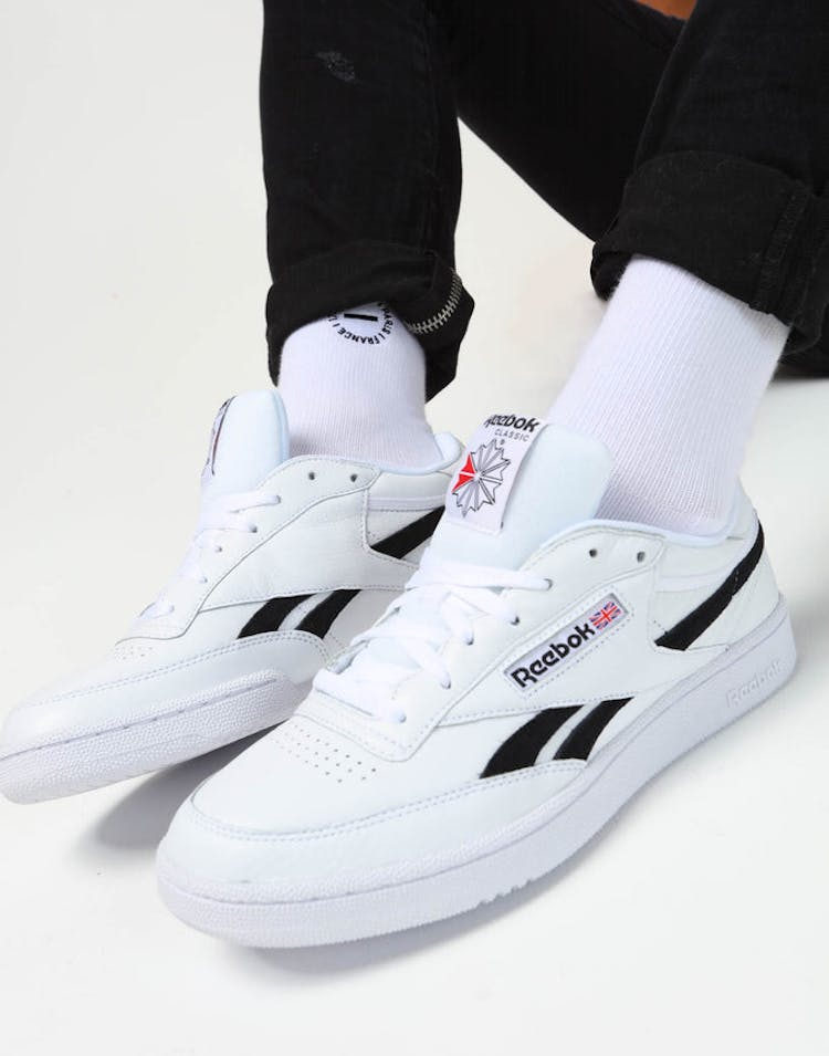 624b938ca3d Reebok Revenge Plus MU White Black – Culture Kings