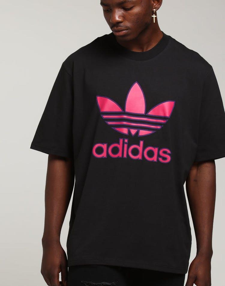 9645f366f60 Adidas Trefoil Tee Black/Purple/Pink – Culture Kings
