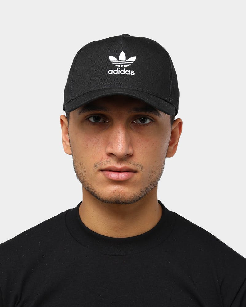 Adidas Men's AC Closed Curved Trucker Snapback Black
