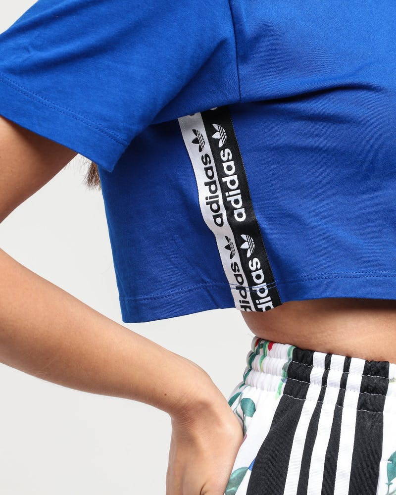 Adidas Women's Cropped Tee Royal