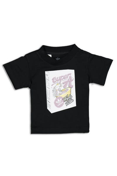Adidas Infant Graphic Tee Black/Multi-Coloured