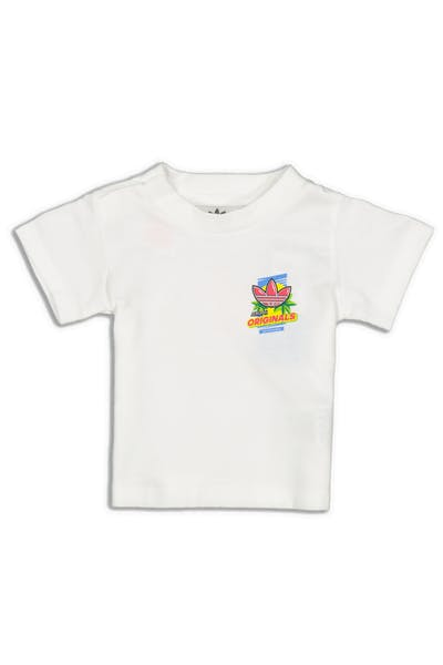 Adidas Infant Graphic Tee White/Multi-Coloured