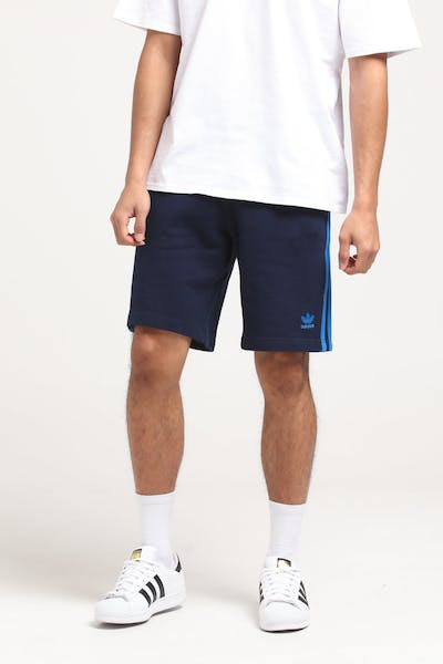 Adidas 3-Stripe Short Navy/Blue