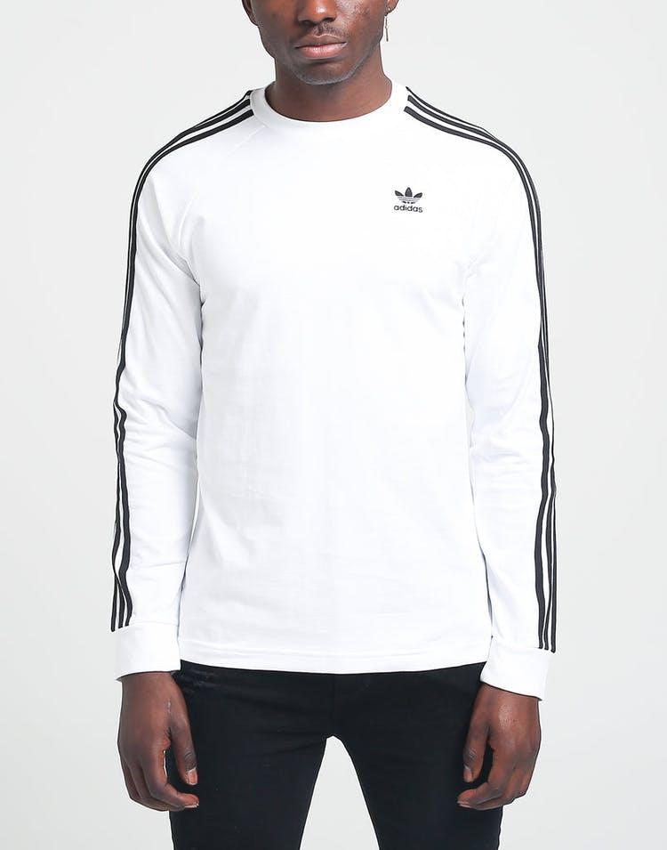 f01b2e9b Adidas 3-Stripes LS Tee White