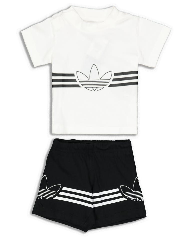 cda25c82 Adidas Infant Outline Tee Set White – Culture Kings