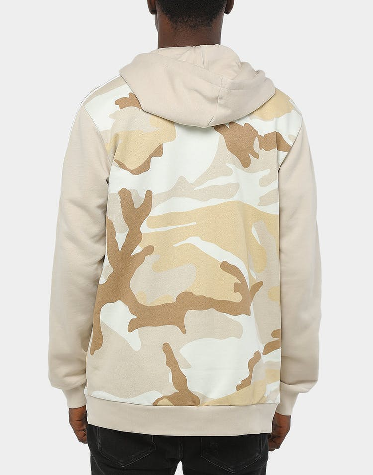 Adidas Camo Full Zip Hoody Multi-Coloured/Brown