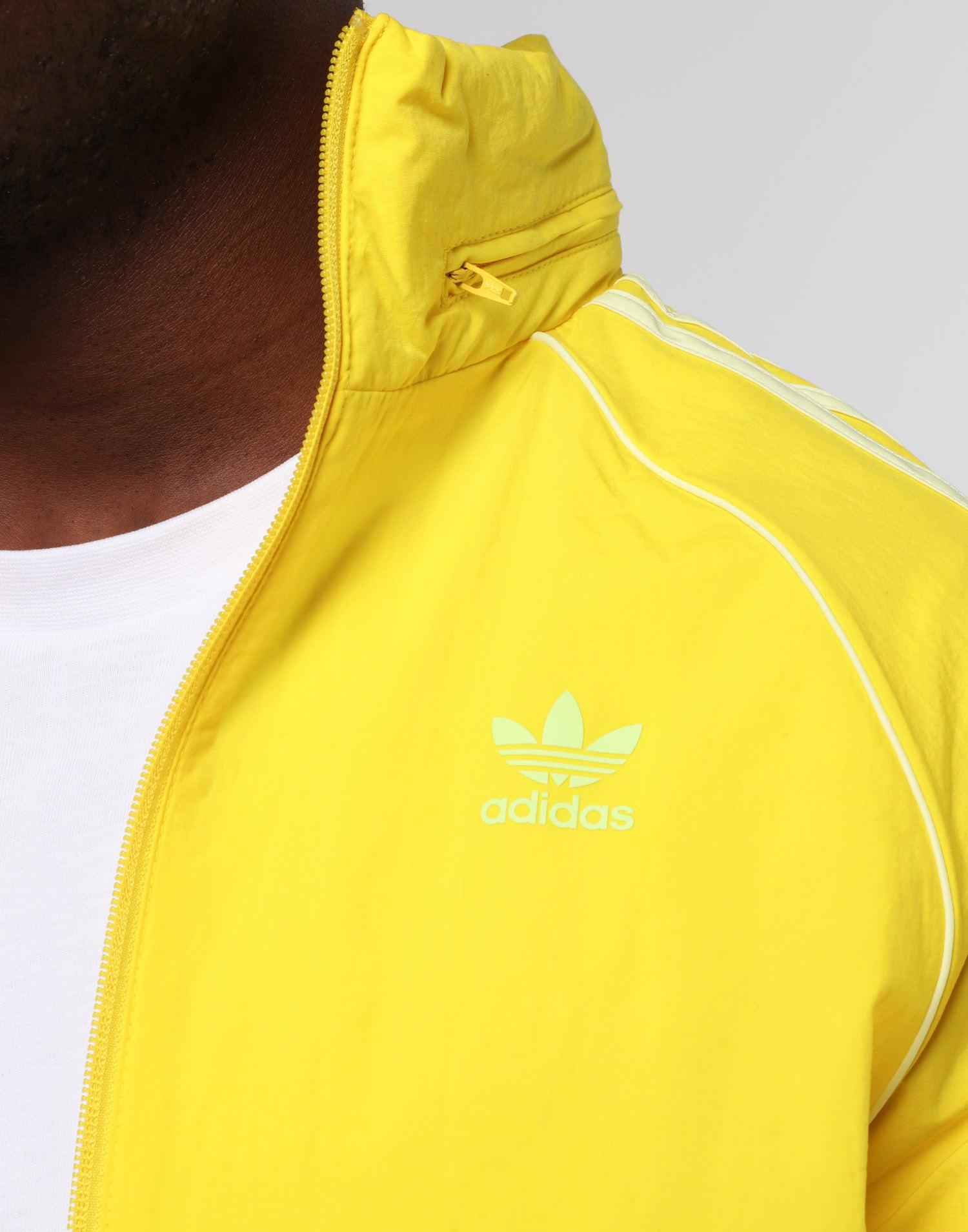 Adidas BLC SST Windbreaker Yellow