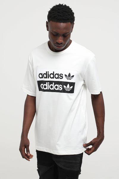 Adidas Vocal Logo Tee White