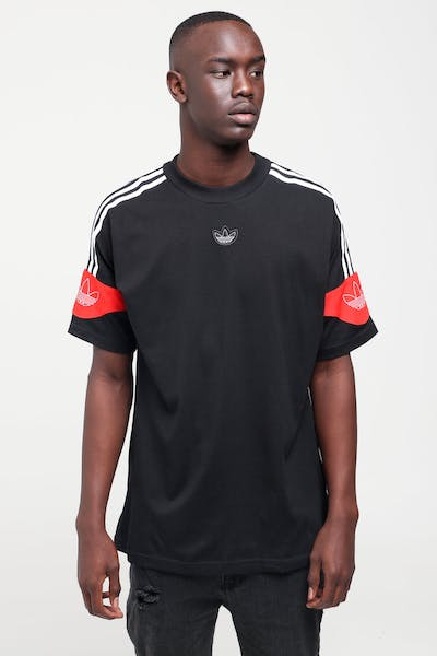 Adidas TS Trefoil Tee Black/Red