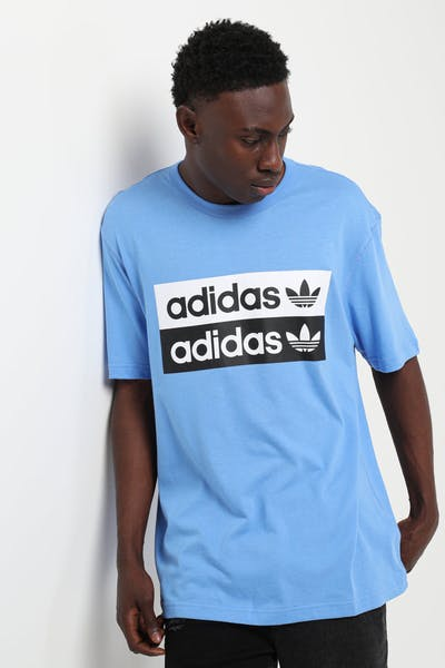 Adidas Vocal Logo Tee Blue