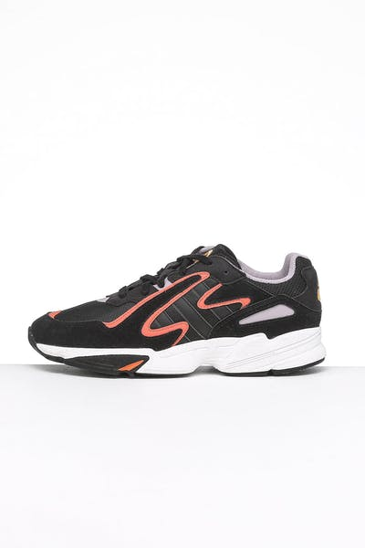 Adidas Yung-96 Chasm Black/Black/Orange