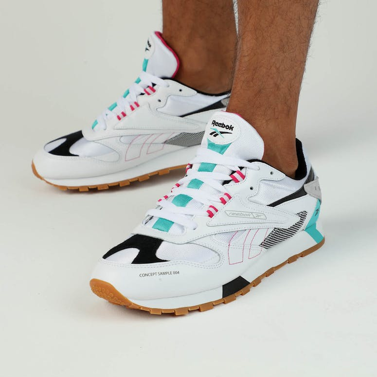 613cd82a604 Reebok Classic Leather ATI 90S White Teal Black – Culture Kings