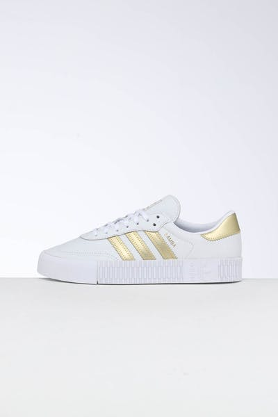 Adidas Women's Sambarose White/Gold