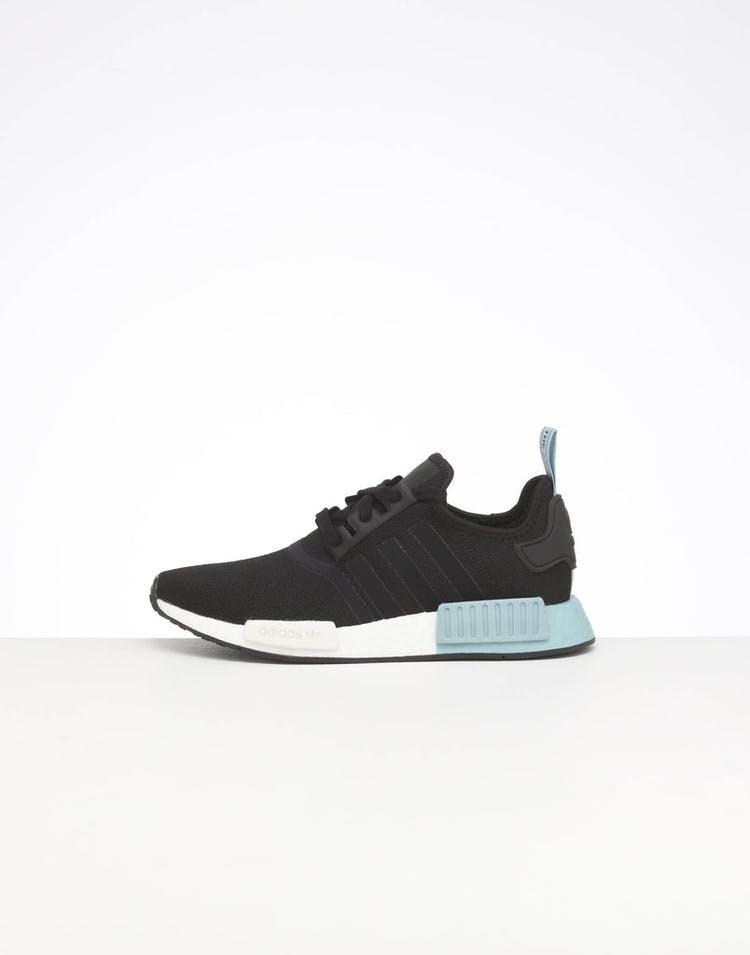 innovative design d716a 45718 Adidas Women's NMD R1 Black/Black/Ash Grey