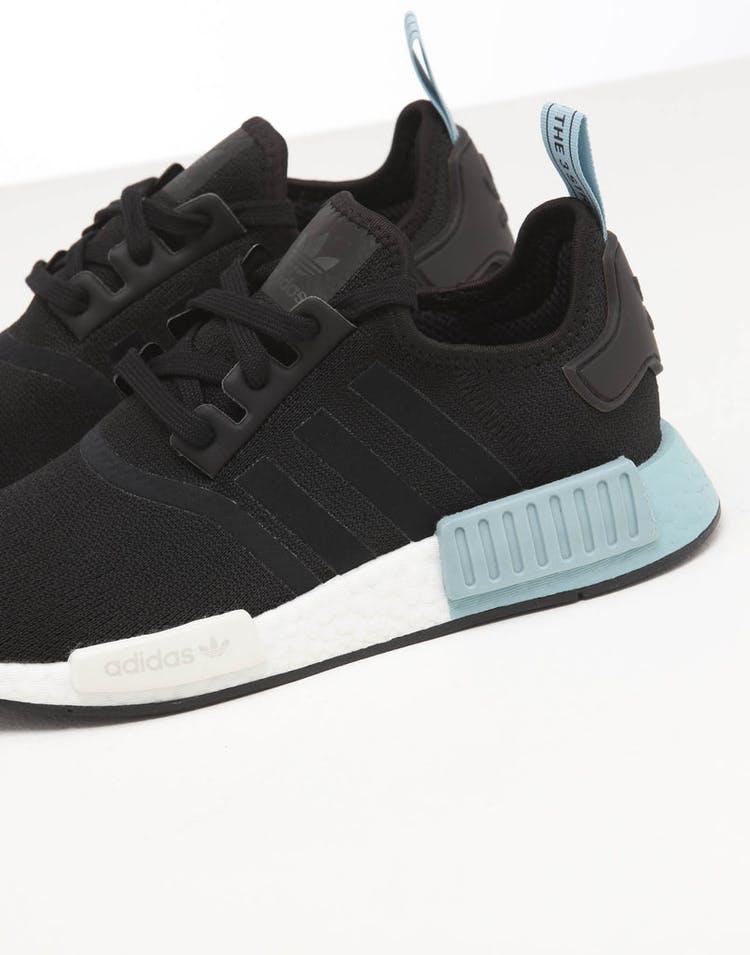innovative design 7aee1 6f34a Adidas Women's NMD R1 Black/Black/Ash Grey