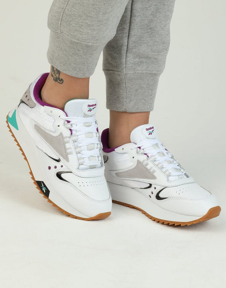 8cdb34a47e6 Reebok Women s Classic Leather ATI 90S White Teal Black – Culture Kings
