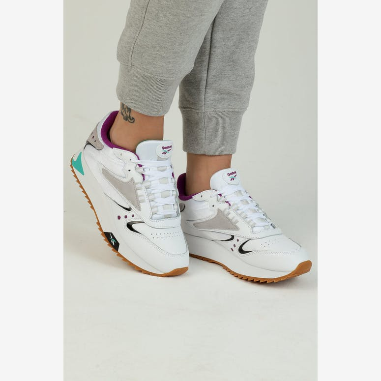 Reebok Women s Classic Leather ATI 90S White Teal Black – Culture Kings 9cf4bfcbe