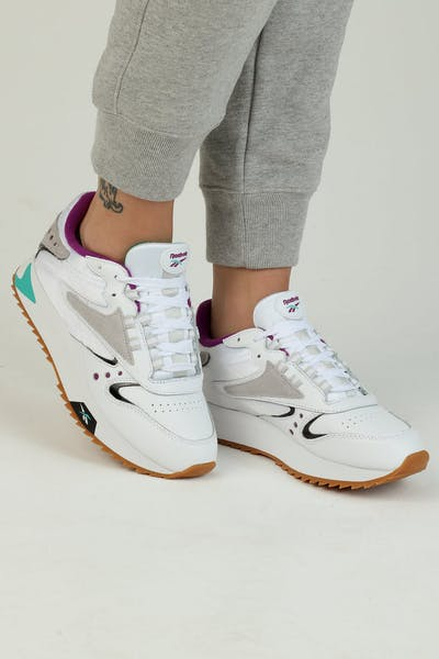 Reebok Women's Classic Leather ATI 90S White/Teal/Black