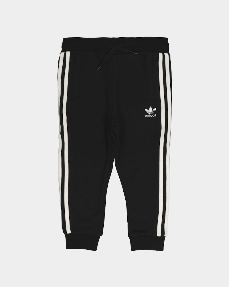 Adidas Kid's Crew Sweatshirt 2 Piece Set Black/White