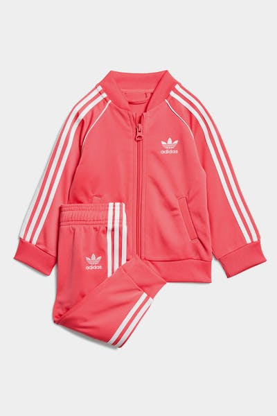 Adidas Kids Superstar Suit Pink/White